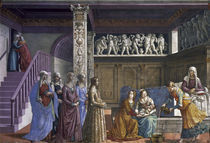 D.Ghirlandaio, Geburt Mariae von AKG  Images