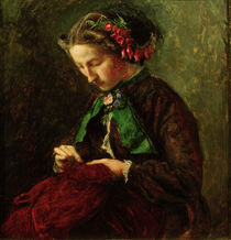 Effie Ruskin / Gem. von J.E. Millais von AKG  Images