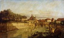 Dresden,Zwingergraben / Gem.von Bellotto by AKG  Images