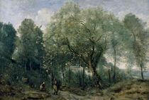 C.Corot, Der Catalpa by AKG  Images