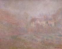 C.Monet,Haeuser in Falaise im Nebel by AKG  Images