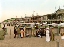 Sylt, Westerland, Strandbad / Photochrom by AKG  Images