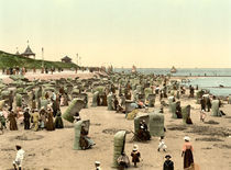 Norderney, Strand / Photochrom by AKG  Images