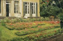 M.Liebermann, Blumenterrasse Wannseegart by AKG  Images