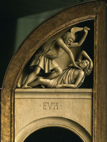 Kain erschlaegt Abel / Genter Altar, 1432 von AKG  Images