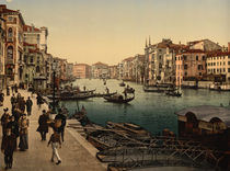 Venedig, Canal Grande / Photochrom by AKG  Images
