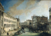 Venedig, Rio dei Mendicanti / Canaletto by AKG  Images