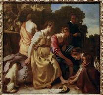 Vermeer, Diana mit ihren Gefaehrtinnen by AKG  Images