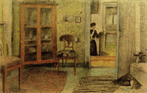 A.Macke, Unser Wohnzimmer..., 1910 by AKG  Images