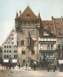 Nuernberg, Nassauerhaus / Postkarte von AKG  Images