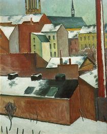 A.Macke, Bonner Marienkirche im Schnee von AKG  Images