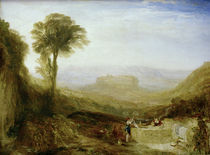 W.Turner, Ansicht von Orvieto von AKG  Images