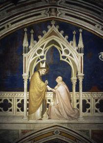 Simone Martini, Kardinal huldigt Martin von AKG  Images