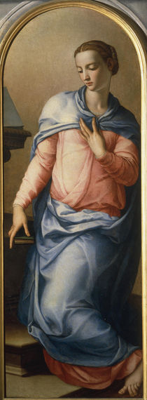 A.Bronzino, Maria der Verkuendigung by AKG  Images