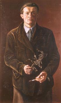 Oskar Zwintscher, Selbstbildnis 1897 by AKG  Images