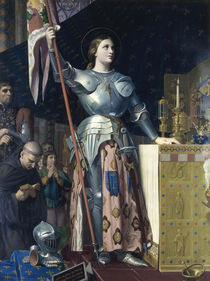 Jeanne d'Arc / Gem.v.Ingres by AKG  Images