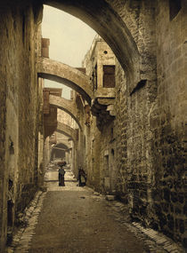 Jerusalem, Via Dolorosa / Photochrom by AKG  Images