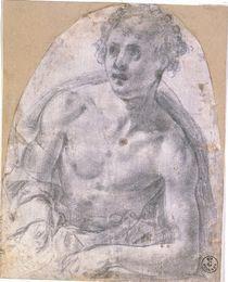 A.Bronzino, Studie zu Sebastian by AKG  Images