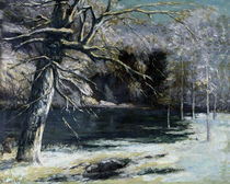 G.Courbet, Der Wasservogeljaeger by AKG  Images