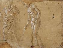 S.Botticelli, Zwei Figurenstudien by AKG  Images