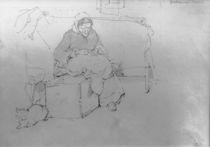 L.Knaus, Grossmutter beim Gaenserupfen von AKG  Images