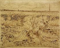 V.v.Gogh, Weizenfeld mit Kornbuendel by AKG  Images