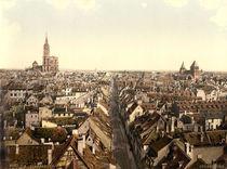 Strassburg, Stadtansicht / Photochrom von AKG  Images