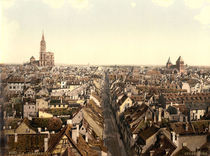 Strassburg, Stadtansicht / Photochrom by AKG  Images