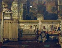 L.Alma Tadema, Aegyptische Witwe von AKG  Images