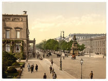 Berlin,Unter den Linden / Photochrom by AKG  Images