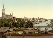 Ulm, Stadtansicht / Photochrom by AKG  Images