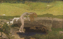 Giovanni Segantini, Die Eitelkeit by AKG  Images