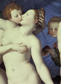 A.Bronzino, Allegorie mit Venus, Ausschn by AKG  Images
