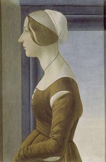 Botticelli, Bildnis junge Frau von AKG  Images