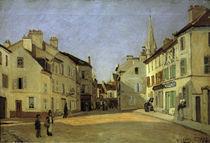 A.Sisley, Rue de la Chaussee in Argent. von AKG  Images