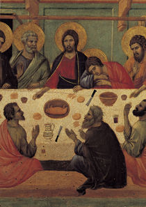 Duccio, Abendmahl, Ausschnitt von AKG  Images
