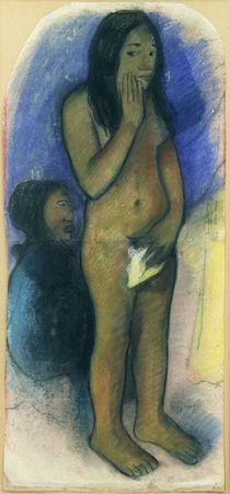 P.Gauguin/Studie zu:Parau na te varua... by AKG  Images