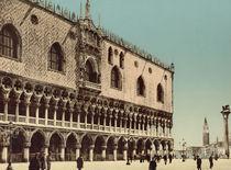 Venedig, Dogenpalast / Photochrom by AKG  Images
