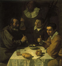 Velasquez, Das Fruehstueck / 1617 von AKG  Images