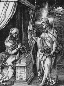 Duerer, Christus erscheint Maria/ Kl.Pass by AKG  Images
