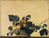 Caravaggio, Der Obstkorb by AKG  Images