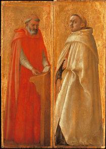 Masaccio, Zwei heilige Karmeliter by AKG  Images