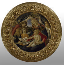 Botticelli, Madonna del Magnificat von AKG  Images