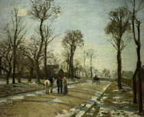 C.Pissarro, Louveciennes Wintersonne by AKG  Images
