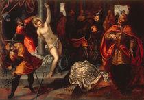 Tintoretto, Hl.Katharina Auspeitschung von AKG  Images