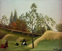 H.Rousseau, Ansicht Befestigungsanlagen by AKG  Images