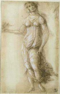 Botticelli /Weibliche allegorische Figur by AKG  Images