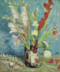 V.van Gogh, Vase mit Gladiolen von AKG  Images