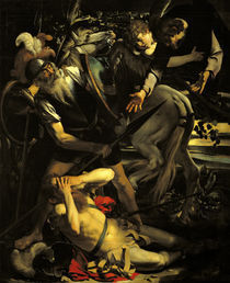 Caravaggio, Bekehrung des Paulus /1.Fass by AKG  Images