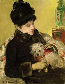 M.Cassatt, Besucherin mit Hut und Mantel von AKG  Images